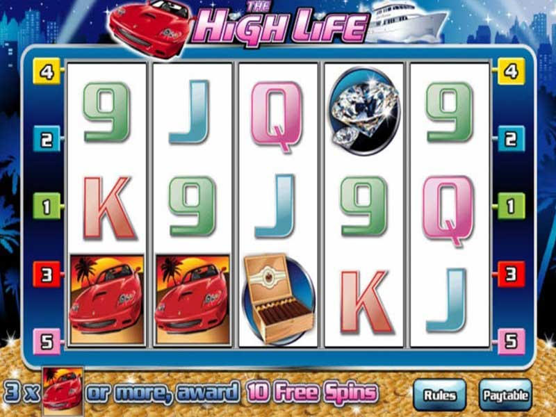 The High Life slot game